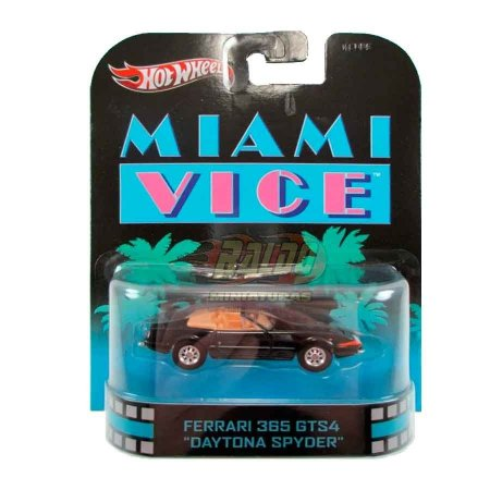 Hot Wheels - Ferrari 365 GTS4 Daytona Spyder - Miami Vice - Retro Entertainment 2013