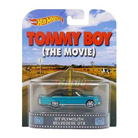 Hot Wheels - 67 Plymouth Belvedere GTX - Tommy Boy - Retro Entertainment 2014