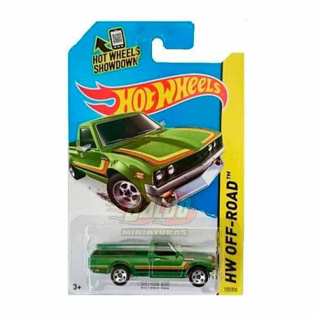 Hot Wheels - Datsun 620 (Pickup Verde)