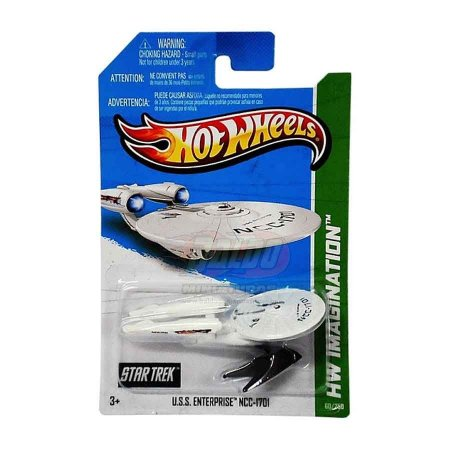 Hot Wheels - Star Trek - U.S.S. Enterprise NCC-1701
