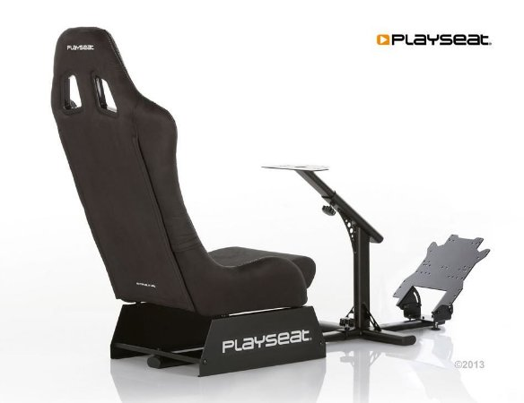 Cockpit Playseat Evolution Alcantara (Black)