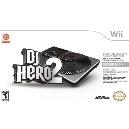 Wii - DJ Hero 2 (Turntable + Game)