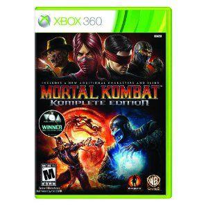 Xbox360 - Mortal Kombat Komplete Edition
