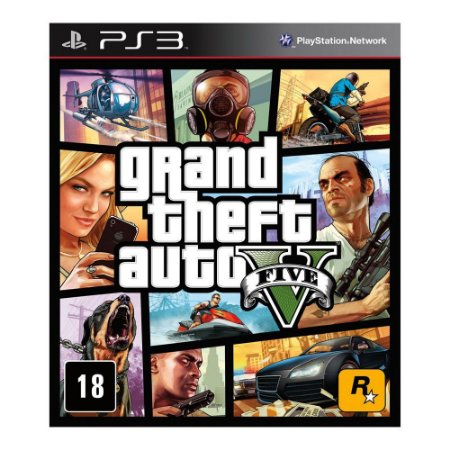 PS3 - GTA V -  Grand Theft Auto V