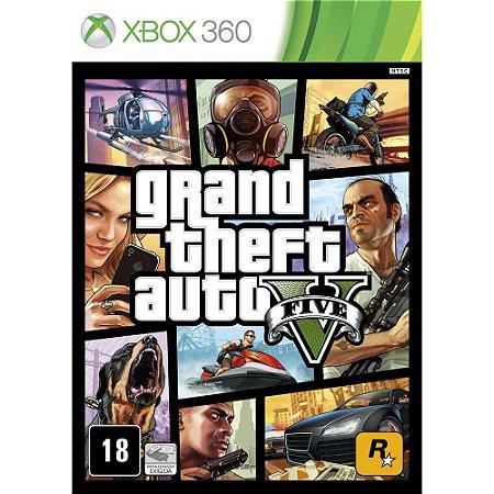 Xbox360 - GTA V -  Grand Theft Auto V