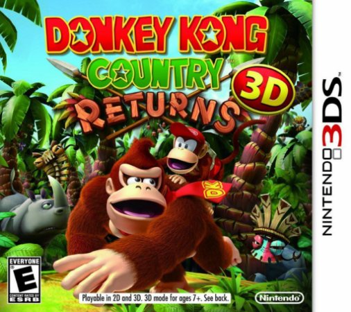 3DS - Donkey Kong Country Returns 3D