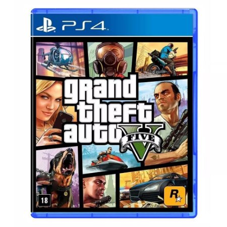 PS4 - GTA V - Grand Theft Auto V