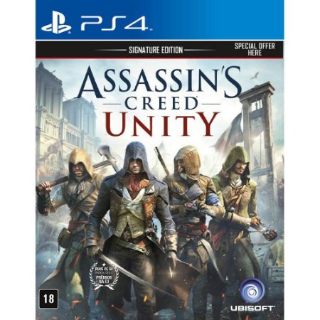 PS4 - Assassin's Creed - Unity - Signature Edition