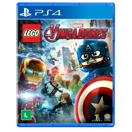 PS4 - Lego Marvel Vingadores