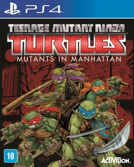 PS4 - Tartarugas Ninja - TMNT - Mutants In Manhattan