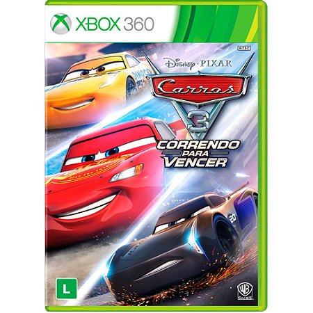 Xbox360 - Carros 3 - Correndo para vencer