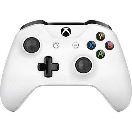 XboxOne - Controle Xbox One S Branco