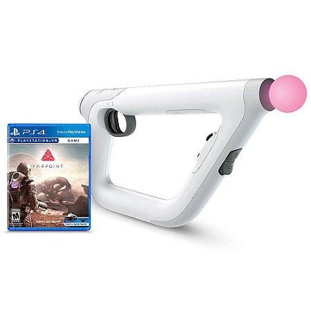 PS4 - PSVR Aim Controller + Farpoint
