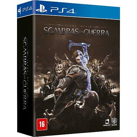 PS4 - Terra-Média: Sombras de Guerra - Edição Prata