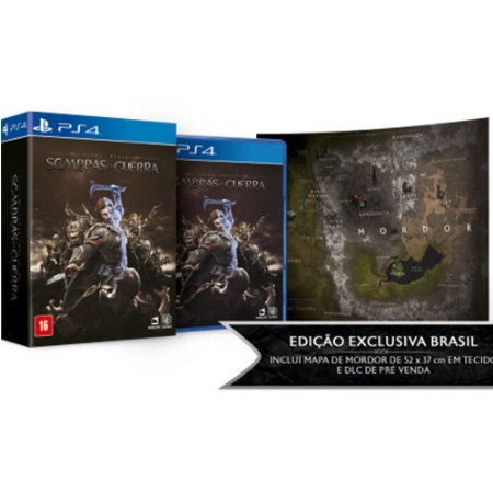 PS4 - Terra-Média: Sombras de Guerra - Edição Limitada