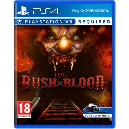 PS4 - Until Dawn Rush Of Blood
