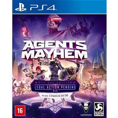 PS4 - Agents Of Mayhem