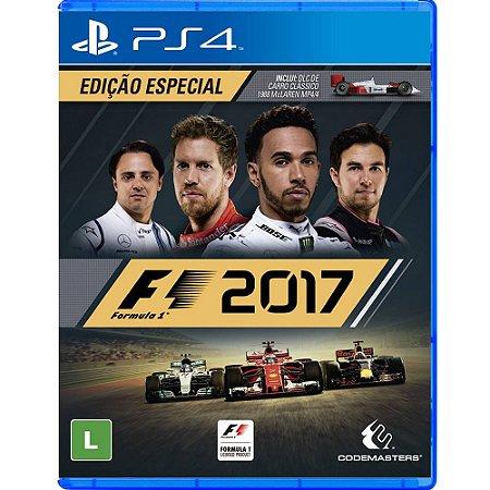 PS4 - Fórmula 1 2017