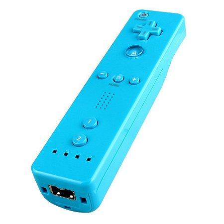 Wii - Controle Remote Plus Azul