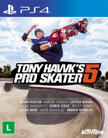 PS4 - Tony Hawk´s Pro Skater 5