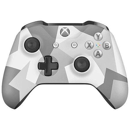 XboxOne - Controle Xbox One Edição Especial Winter Forces