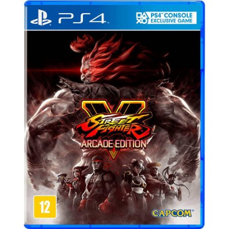 PS4 - Street Fighter V - Arcade Edition