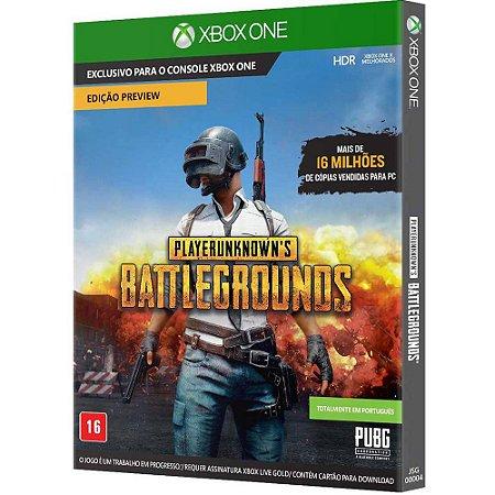 XboxOne - PUBG - PlayerUnknow's Battlegrounds (Via Download)