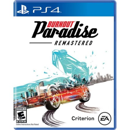 PS4 - Burnout Paradise - Remastered