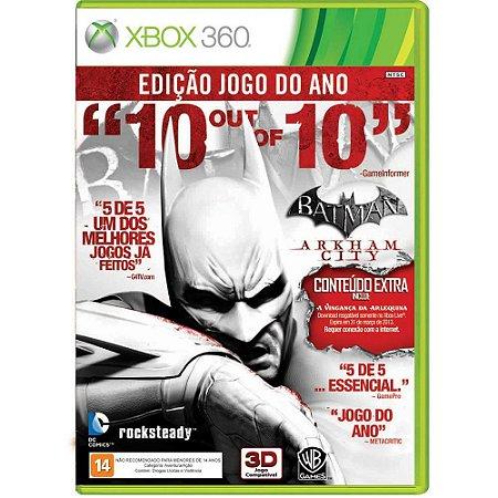 Xbox360 - Batman Arkham City