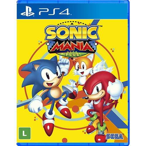 PS4 - Sonic Mania Plus (Pré-venda)