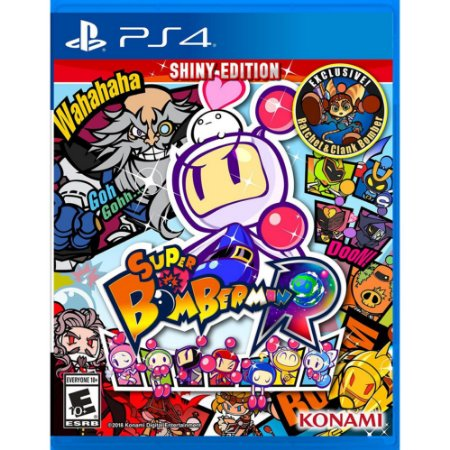 PS4 - Super Bomberman R - Shiny Edition