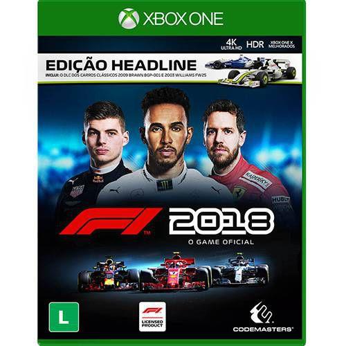 XboxOne - Fórmula 1 2018 - F1 2018 - Edição Headline (Pré-venda)