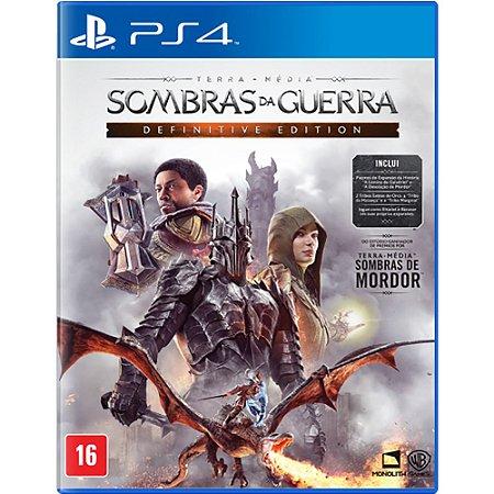 PS4 - Sombras da Guerra - Definitive Edition