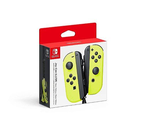 Switch - Joy-Con Esquerdo/Direito - Neon Amarelo