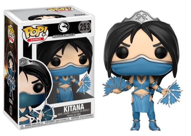 Funko Pop! Games: Mortal Kombat X - Kitana