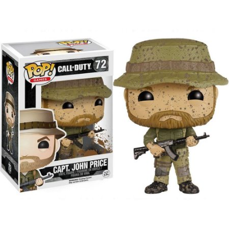 Funko Pop! Games: Call Of Duty - Capt. John Price