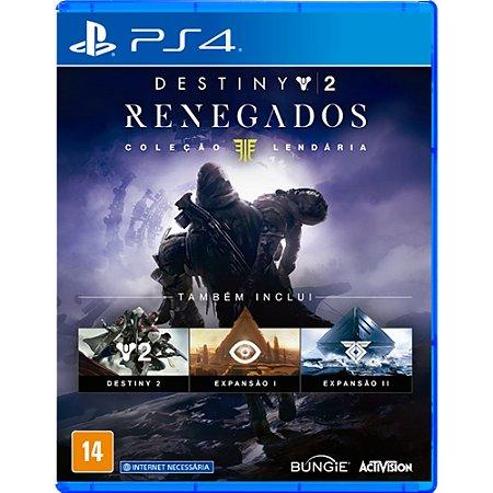 PS4 - Destiny 2 Renegados - Coleção Lendária