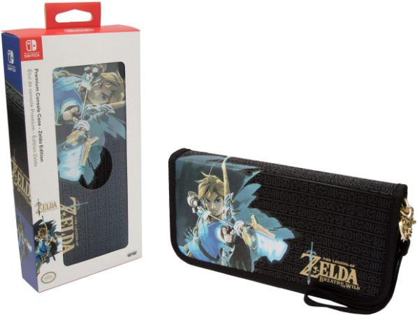 Switch - Case para Console Premium - Zelda Edition