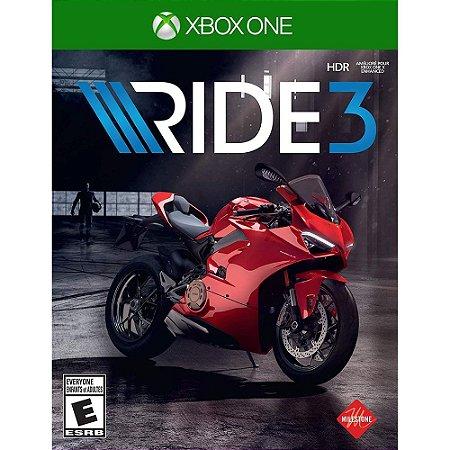 XboxOne - Ride 3