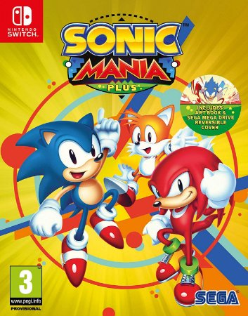 Switch - Sonic Mania Plus
