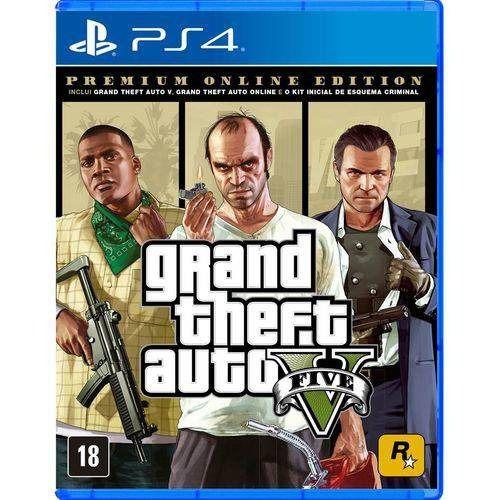 PS4 - GTA V Premium Online Edition