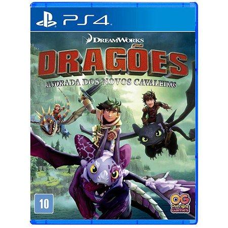 PS4 - Dragões - Alvorada Dos Novos Cavaleiros