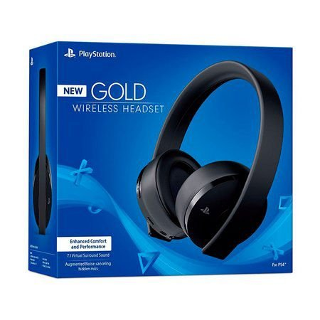 PS4 - Headset Sony New Gold 7.1 Wireless (Headset Gold Sem Fio PS4 - SONY)