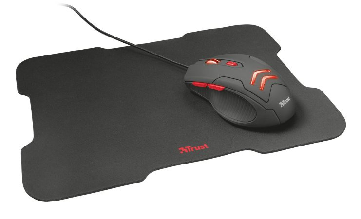 Mouse & Pad Gaming Ziva TRUST