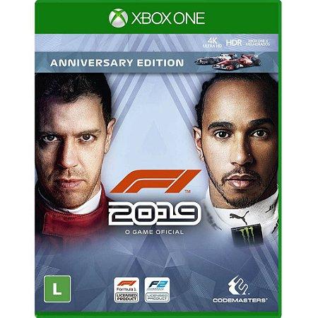 XboxOne - F1 2019 Anniversary Edition (Fórmula 1 2019)