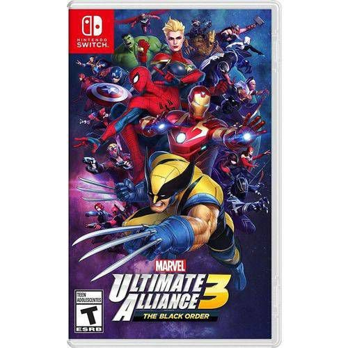 Switch - Marvel Ultimate Alliance 3 The Black Order