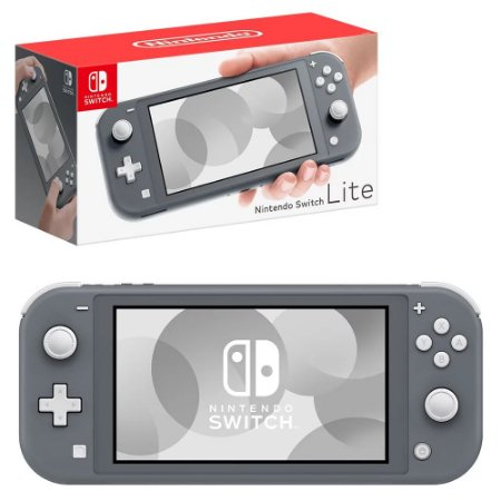 Console - Nintendo Switch Lite - Cinza