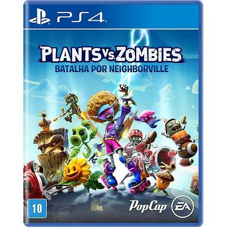 PS4 - Game Plants Vs Zombies: Batalha por Neighborville