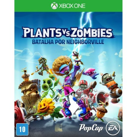 XboxOne - Game Plants Vs Zombies: Batalha por Neighborville