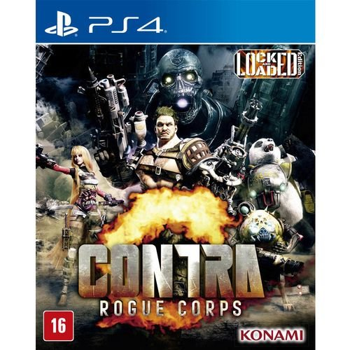 PS4 - Contra Rogue Corps